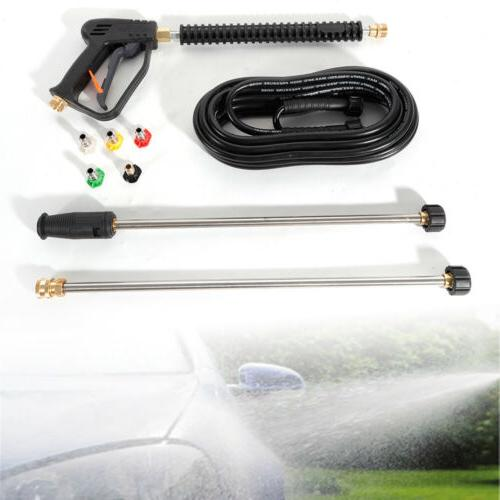 Spray Gun Power Pressure Washers 3000PSI 800cm Hose For Gene