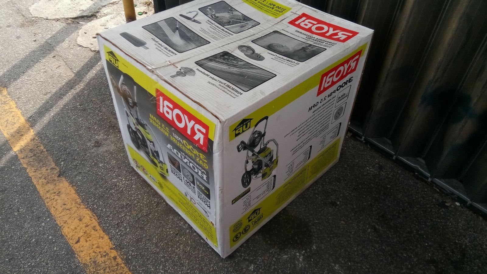 NEW Ryobi PSI 2.5 Honda Gas Powered Pressure