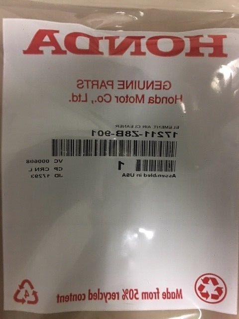 part 17211 z8b 901 element air cleaner