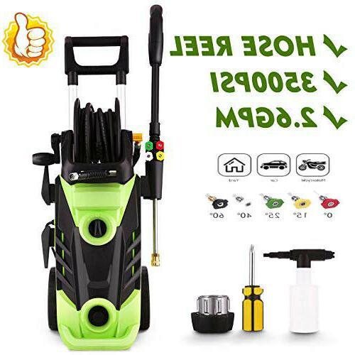 3500PSI Gpm Pressure Power Detergent Y
