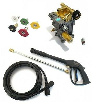 power pressure washer water pump and spray