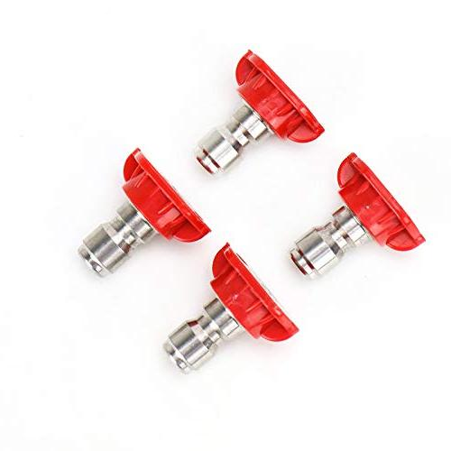 power washer nozzle tips red