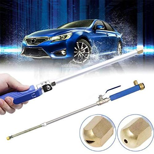 LCLHOME Wand - High Pressure Washer Car and Washing with Scrubbing Mitt