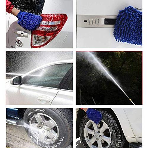 LCLHOME - Washer Nozzle Car Washing with Free Mitt