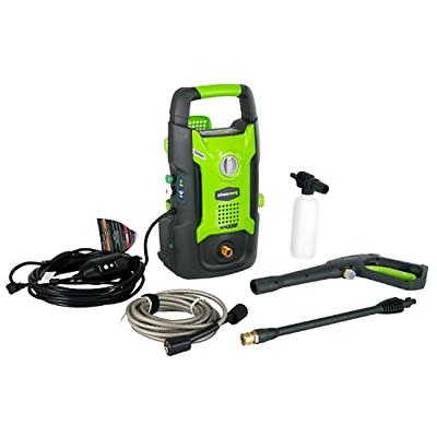 powerful 1600 psi power washer with accessories
