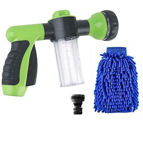 pressure garden hose foam nozzle