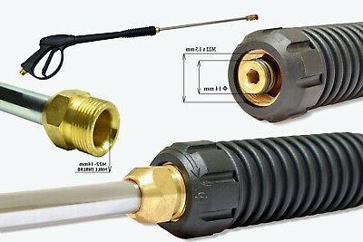 High Pressure/Power Washer Spray Gun, Kit 4000PSI M22