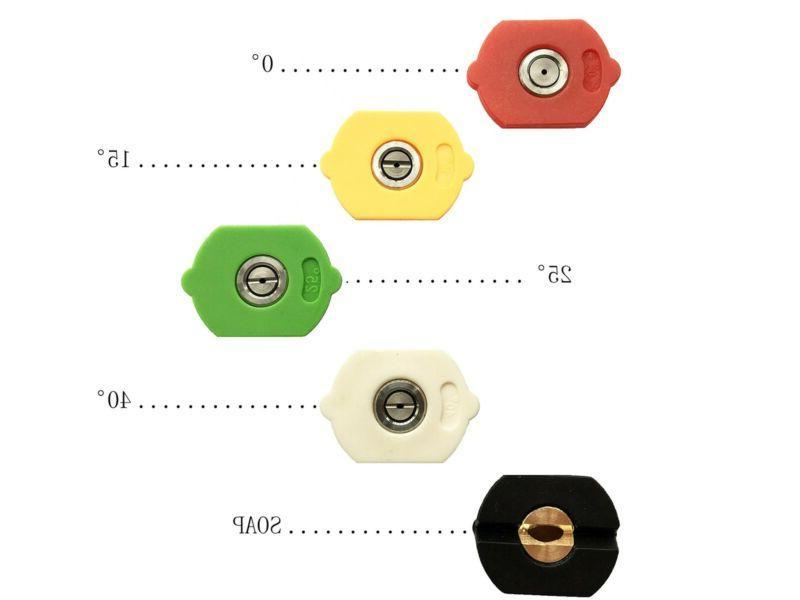 Set of Power Washer Nozzle, PSI Troy-Bilt