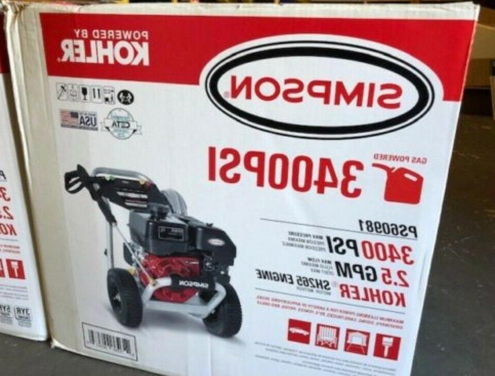 ps60981 3400psi gas powered pressure washer