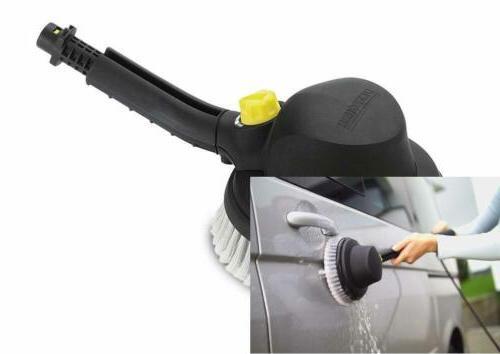 rotary wash brush