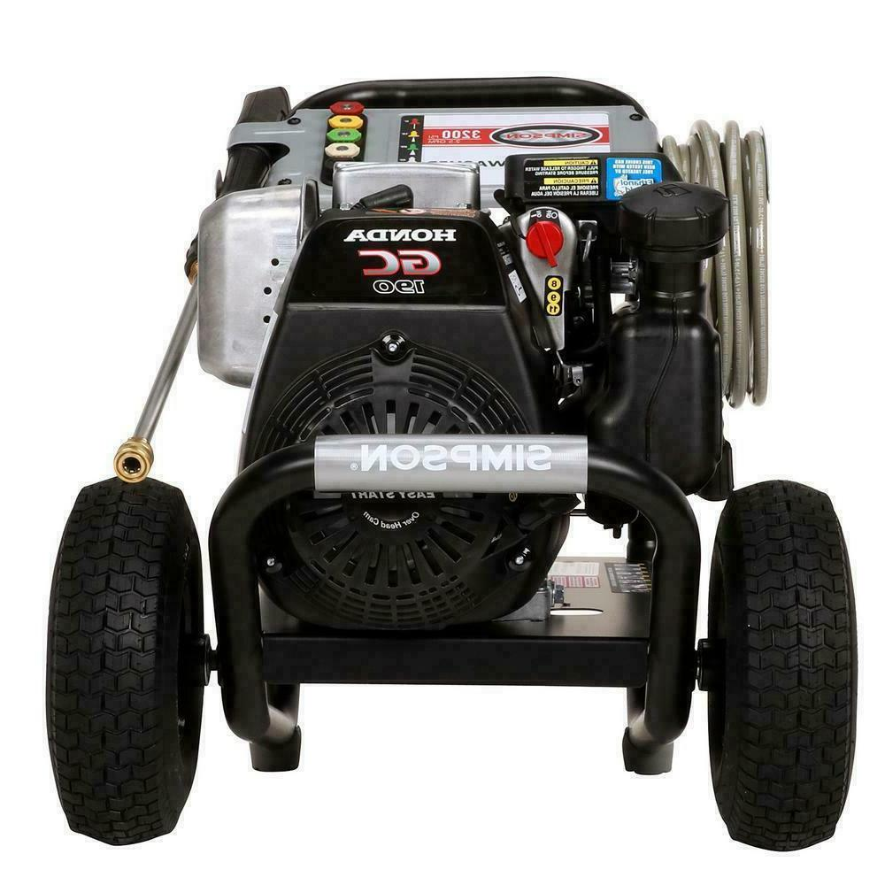 SIMPSON at 2.5 pressure washer by HONDA
