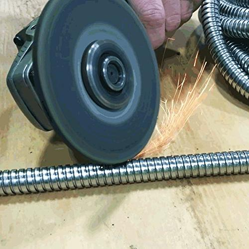 Stainless Water Hose 100ft Washing Trucks To Cut Crash Weatherproof Leak Proof