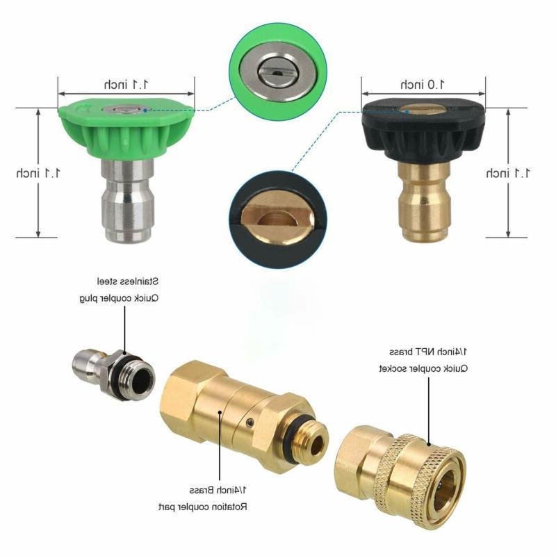LightBiz Tool Pressure Washer Kit, Power Spray Nozzle