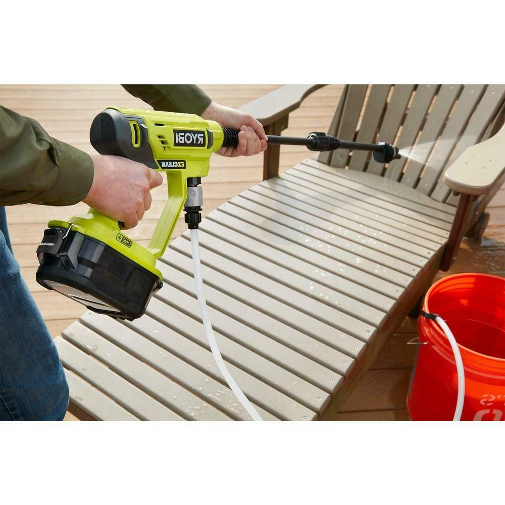 Universal Portable Cordless Power Washer Stone Cement Cleaner