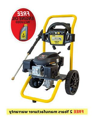 Waspper W3100VA 3100PSI 2.9 GPM Gas Powered Cold Water High