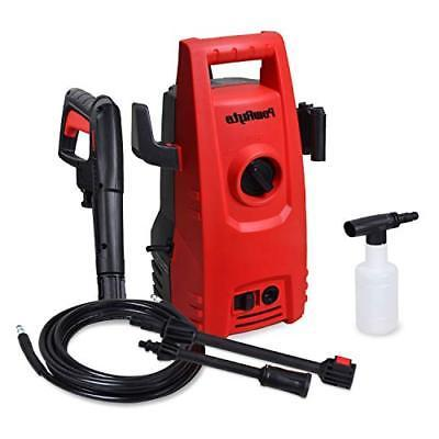 PowRyte 2000 1.6 GPM Compact Pressure Washer, Power Washer with Detergent Dispenser