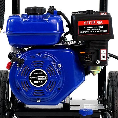 Duromax Gas Water Power Pressure 3100 PSI