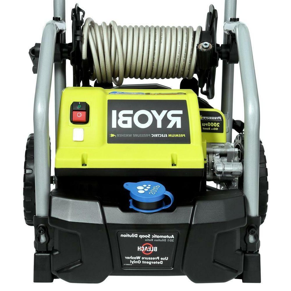 Ryobi 2,000 1.2 GPM Electric Pressure Washer