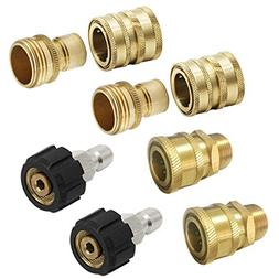 New Prince Mark M22 Ultimate Pressure Washer Adapter Set 3/8