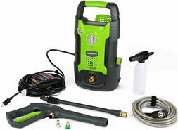 New Greenworks 1500 PSI 13 Amp 1.2 GPM Pressure Washer GPW15