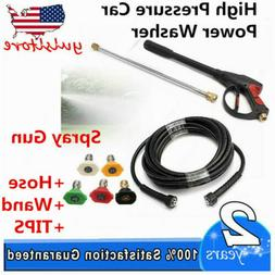 NEW 3000PSI High Pressure Car Power Washer KIT Set Hose + Sp