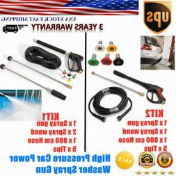 NEW 3000PSI High Pressure Car Power Washer Spray Gun Wand  N