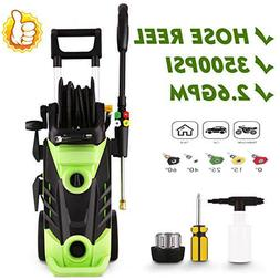 3600PSI 2.8Gpm Electric Pressure Washer Heavy Duty High Powe