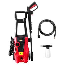 High Power Electric Pressure Washer Cold Water 1400W 1600PSI