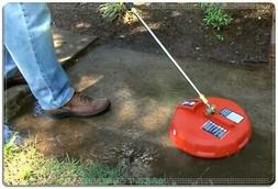 """Power Pressure Washer Surface Gas 15"""" Cleaner Attachment Con"""