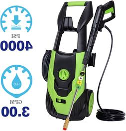PowRyte Power Washer 4000PSI 3.0GPM,Electric Pressure Washer