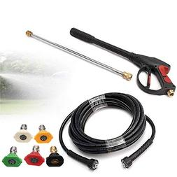 High Pressure Spray Gun,3000PSI High Pressure Car Power Wash
