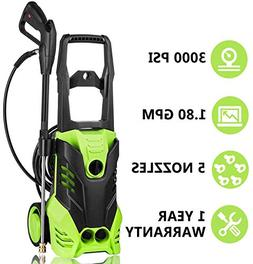 High Pressure Power Washer 3000 PSI Electric Pressure Washer