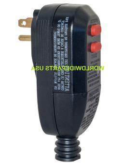 POWER WASHER GFCI PLUG 3 PRONG 7000003 HUSKY CAMPBELL HAUSFE
