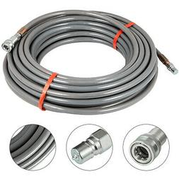 Pressure Washer Hose 3/8'' 200Ft Power Washer Hose 4500 PSI