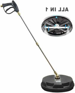 Pressure Washer Surface Cleaner - Power Washer Cleaning Atta