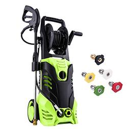 Meditool Pressure Washer, 3000PSI 1.80 GPM 14.5-Amp Power Wa