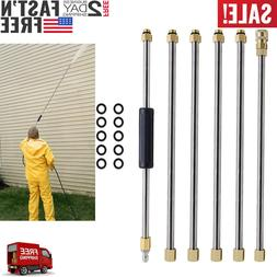 Pressure Washer Wand Extension Replacement Lance 7.5-Feet 1/