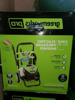 Greenworks Pro 2300-PSI 2.3-GPM Cold Water Electric Pressure