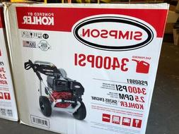 Simpson PS60981 3400PSI Gas Powered Pressure Washer NEW IN B