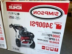 Simpson PS60981 3400PSI Gas Powered Pressure Washer