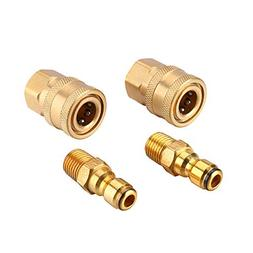 Challco 1/4 inch Quick Connect Pressure Washer Adapter Set,