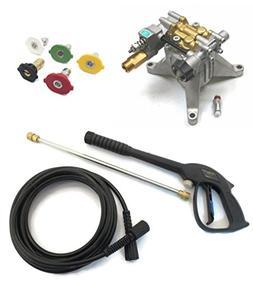 """3100 psi 7/8"""" Shaft Power Pressure Washer Water Pump & Spray"""