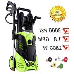 ST3 3000 PSI Power Washer, 1800W Pressure Washer, 14.5-Amp E