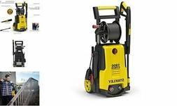 Stanley SHP1900 Electric Power Washer, Medium, Yellow