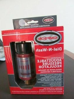 Simpson Universal Dial-N-Wash Adjustable Pressure Regulator