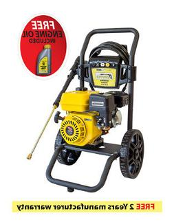 Waspper W3000HA 3200PSI 2.8 GPM Gas Powered Cold Water High