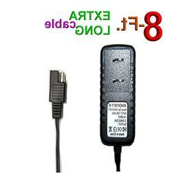 KHOI1971 8-FEET Wall AC Power Adapter Starter Battery Charge