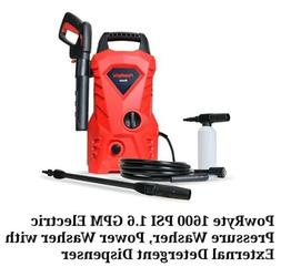PowRyte Washer Pressure Electric PSI 1.6 GPM Power Washer De