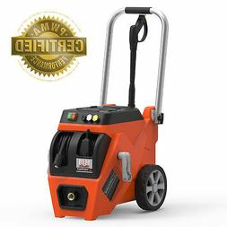 YARD FORCE 1800 PSI Electric Pressure Washer with Live Hose